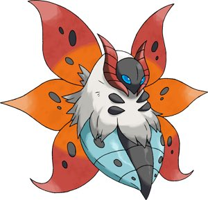 That is Volcarona, a pseudo-legendary bug-Fire type who boasts an excellent special attack stat and an amazing move in quiver dance. https://twitter.com/tjansley/status/1156909014288089088…