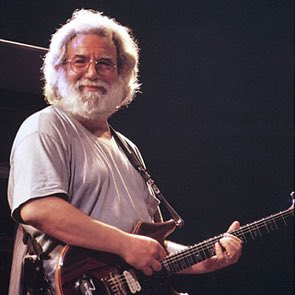 Happy birthday Jerry Garcia , let there be songs to fill the air