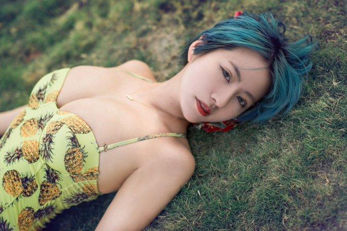 グラビアアイドルヴァネッサ・パンのTwitter自撮りエロ画像13