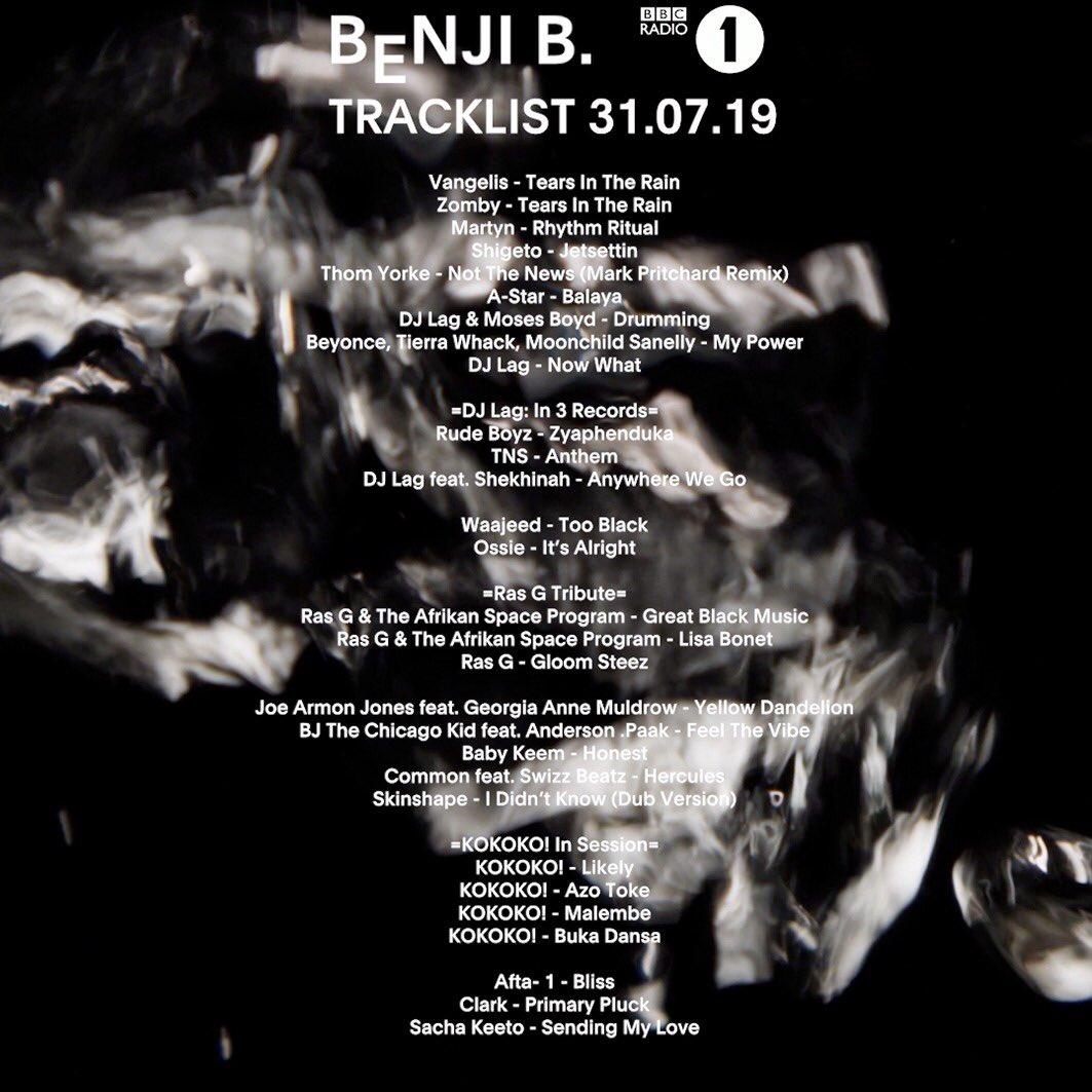 Benji B (@TheRealBenjiB) | Twitter