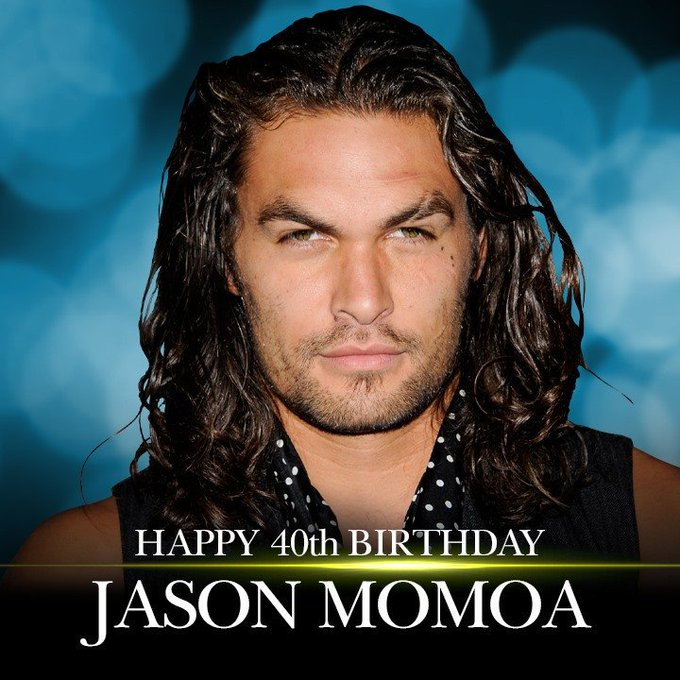 Happy birthday! Actor Jason Momoa turns 40 today!