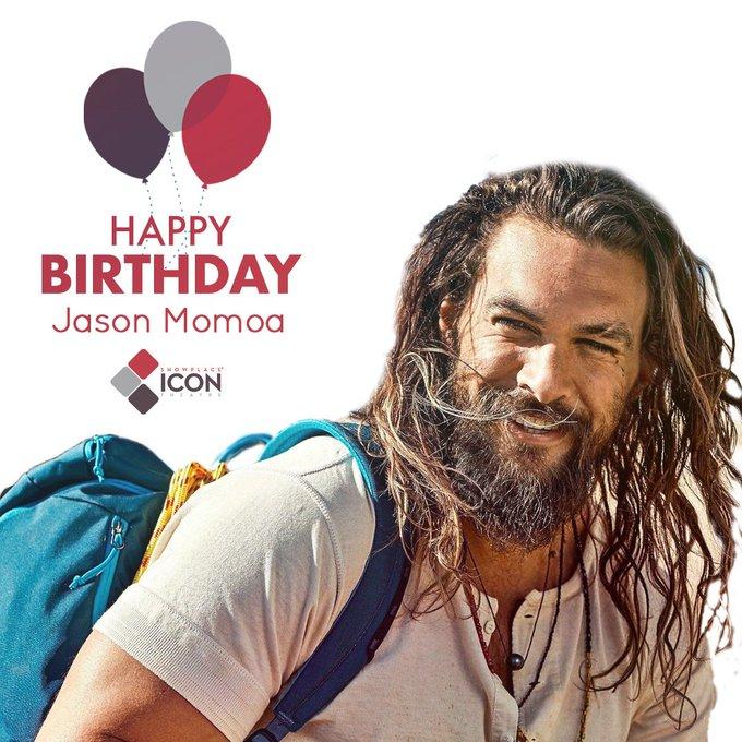 Patiently waiting for Aquaman 2! Happy birthday, Jason Momoa.  Visit Us at