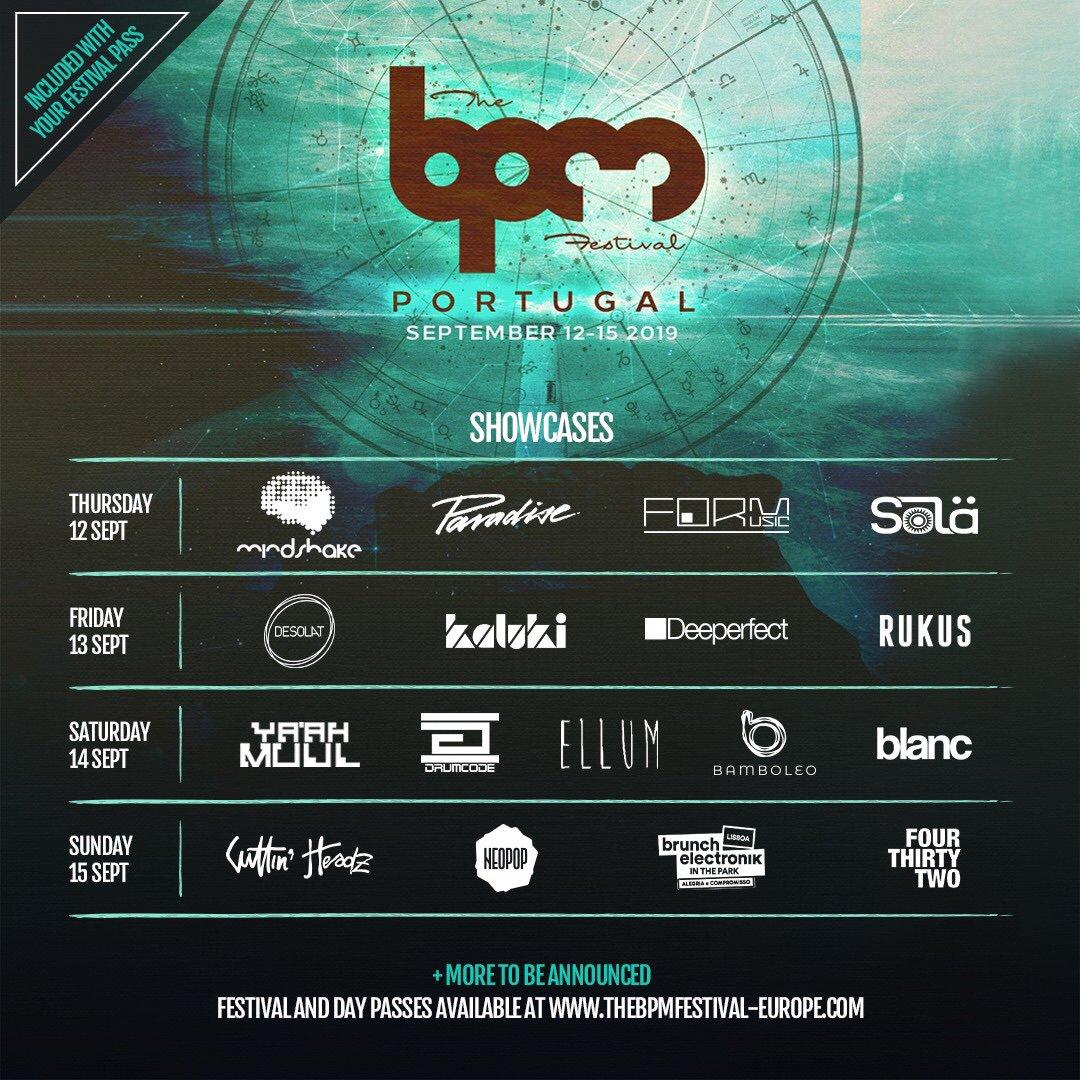 2019 BPM Festival Portugal
