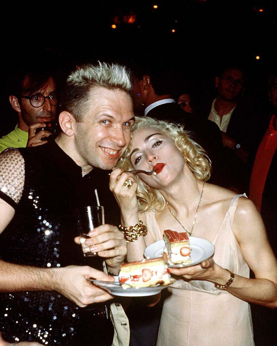 """Jean Paul Gaultier on Twitter: """"""""One day my Queen, always my Queen. Happy birthday @madonna from your Jean Paul.""""… """""""