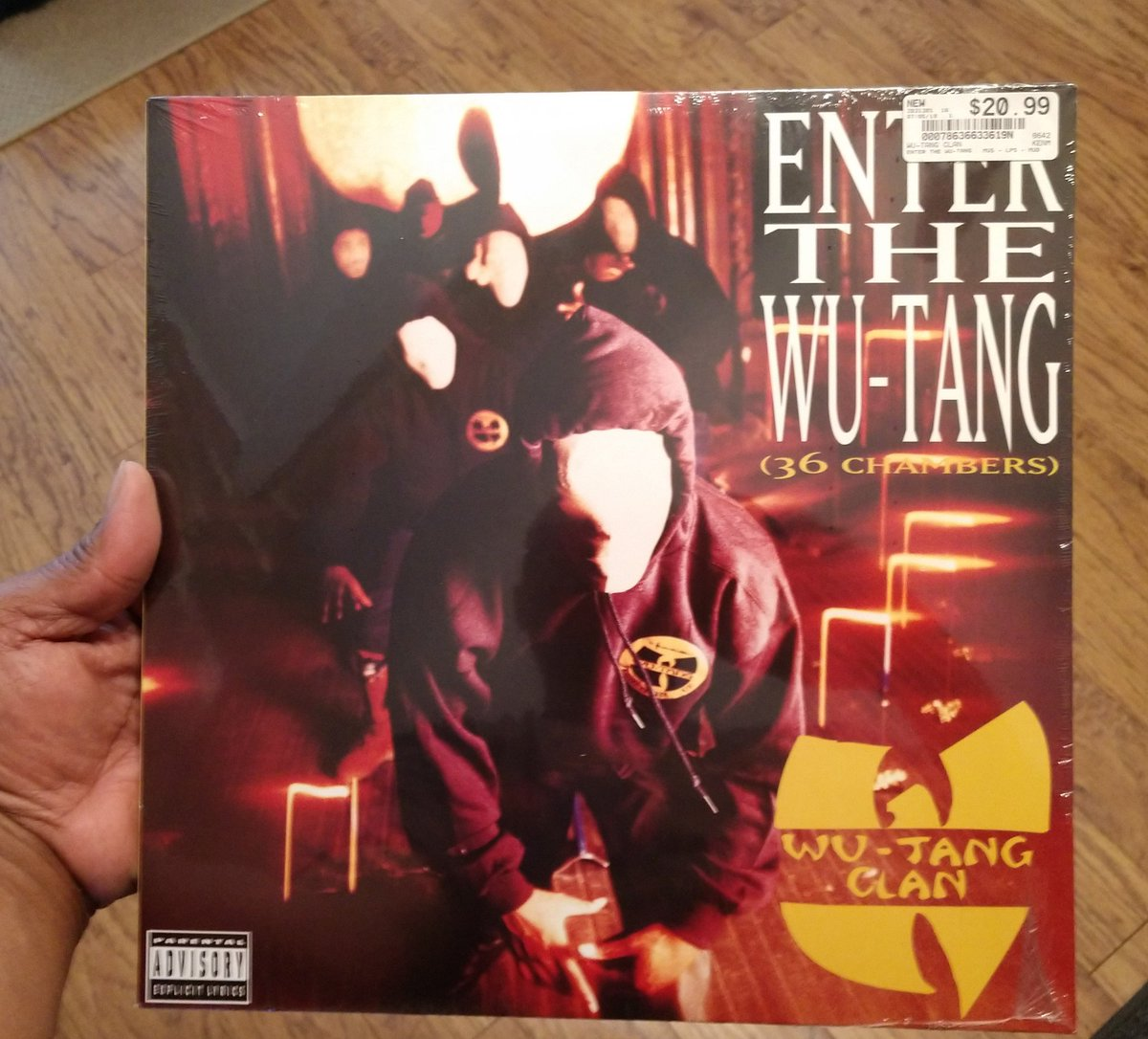 Found this gem yesterday on vinyl!! @WuTangClan #36Chambers