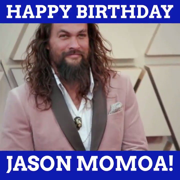 Wishing a happy 40th birthday to Jason Momoa!