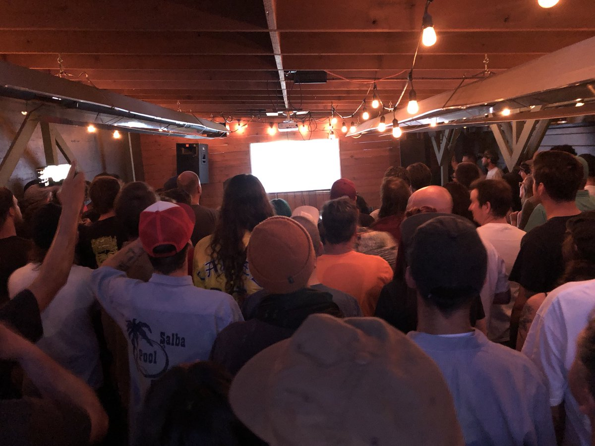 @spitfirewheels vid at @thunderbirdbar was packed last night, saw some old homies and met some new ones. Good vibes!