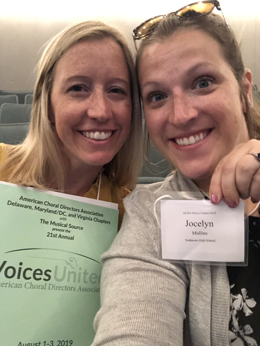 Attending ACDA Voices United Conference at GMU this weekend! <a target='_blank' href='http://twitter.com/McTavishChorus'>@McTavishChorus</a> <a target='_blank' href='http://twitter.com/Principal_YHS'>@Principal_YHS</a> <a target='_blank' href='http://twitter.com/WMS_WolfPack'>@WMS_WolfPack</a>  <a target='_blank' href='http://search.twitter.com/search?q=APSARTS'><a target='_blank' href='https://twitter.com/hashtag/APSARTS?src=hash'>#APSARTS</a></a> <a target='_blank' href='https://t.co/AP3dTReh5K'>https://t.co/AP3dTReh5K</a>