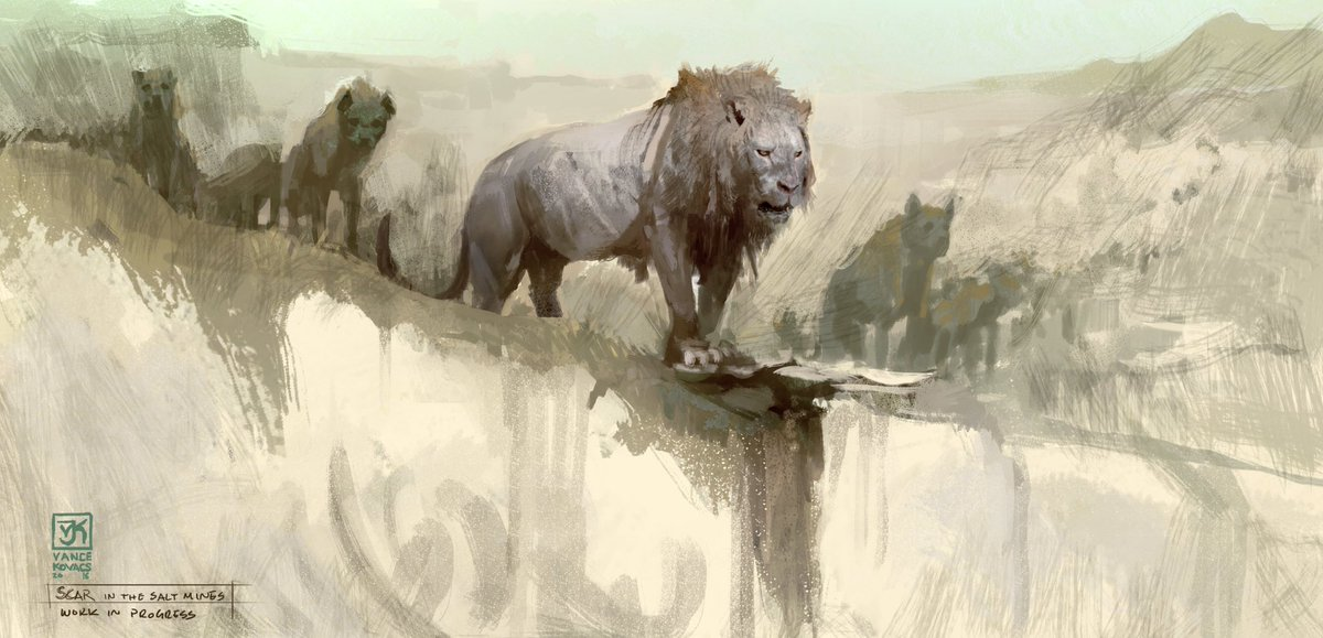 Vance Kovacs On Twitter A Collection Of Lion King Visual Development Paintings