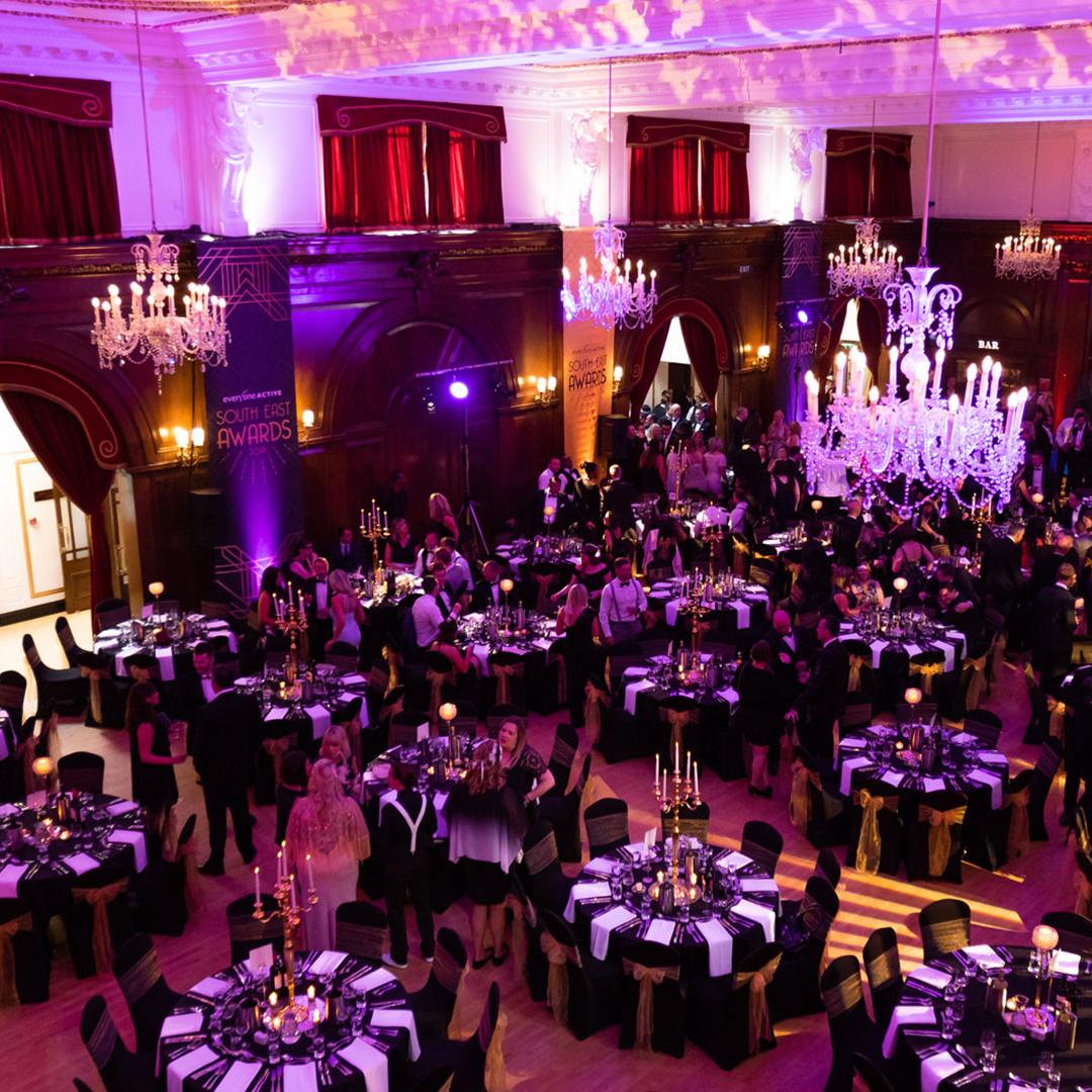 Looking back on this fantastic event at one of our partner venues @PorchesterHall with @everyoneactive #EOL #eventprofs #eventproduction #London #eventsvenue #awardsdinner https://t.co/jbgXJcMdFz