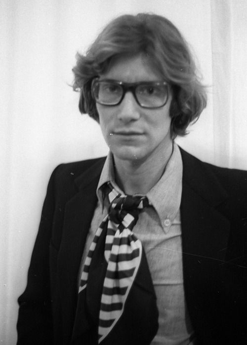 Happy Birthday to legendary fashion designer and handsome man  I love you Yves Saint Laurent