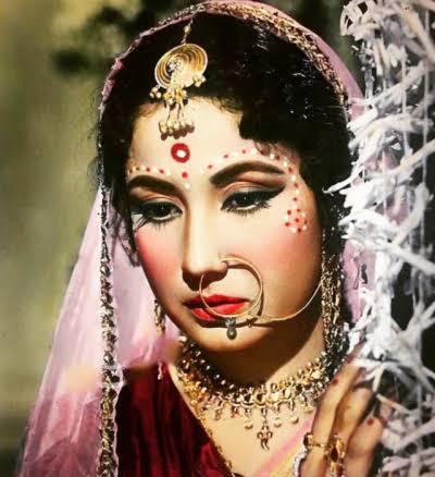Here\s a post dedicated to the evergreen beauty - Meena Kumari  Happy Birthday Queen