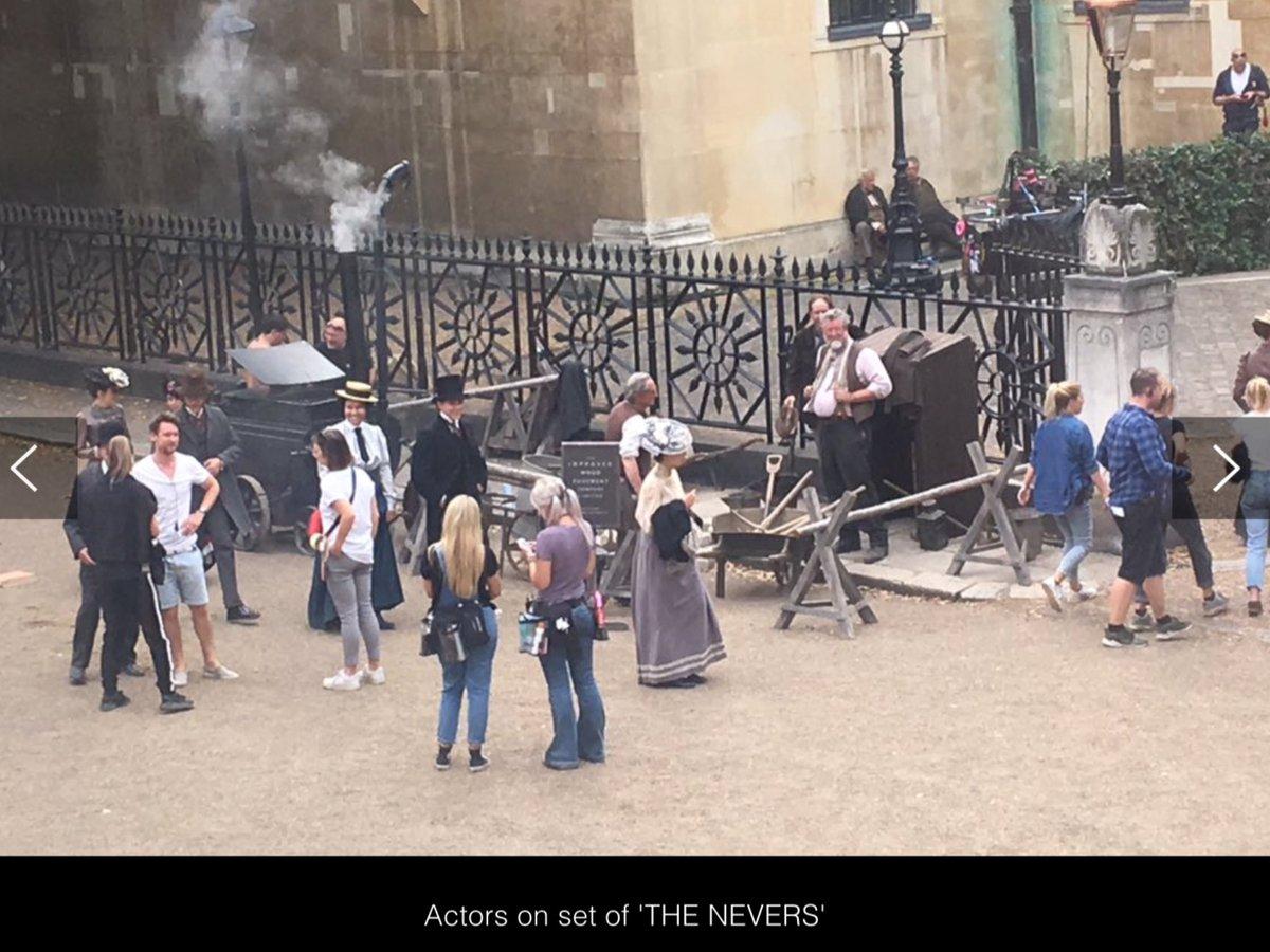 The Nevers de Joss Whedon (HBO), avec James Norton, Olivia Williams, Eleanor Tomlison, Nick Frost ... EA5r7YyXYAIxiNq