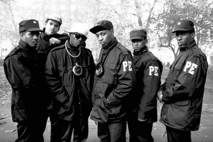 Happy birthday Chuck D with Public Enemy.
