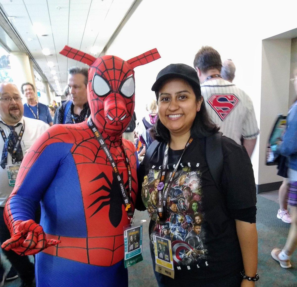 @atomtickets I love SpiderHam. I still need to meet Spider-Gwen.