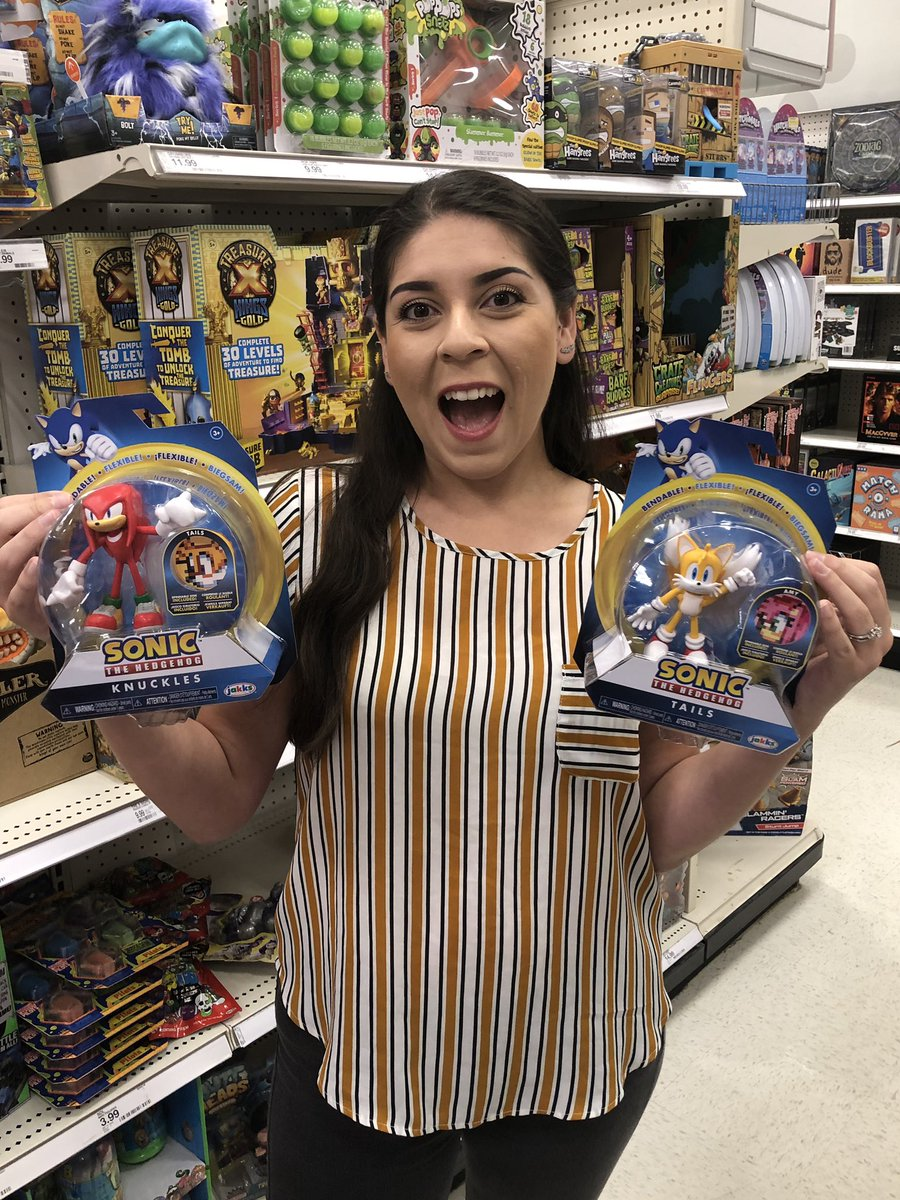 Treasurehuntingsonic On Twitter The Wife Is Super Excited To Find The Jakkstoys Sonic Toys At Target