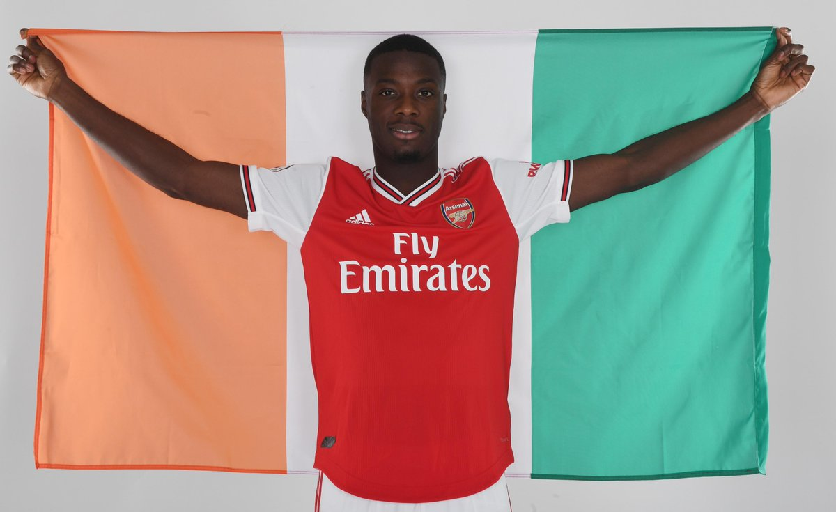 Done Deal: Arsenal sign Nicolas Pepe from Lille – Football Shoot