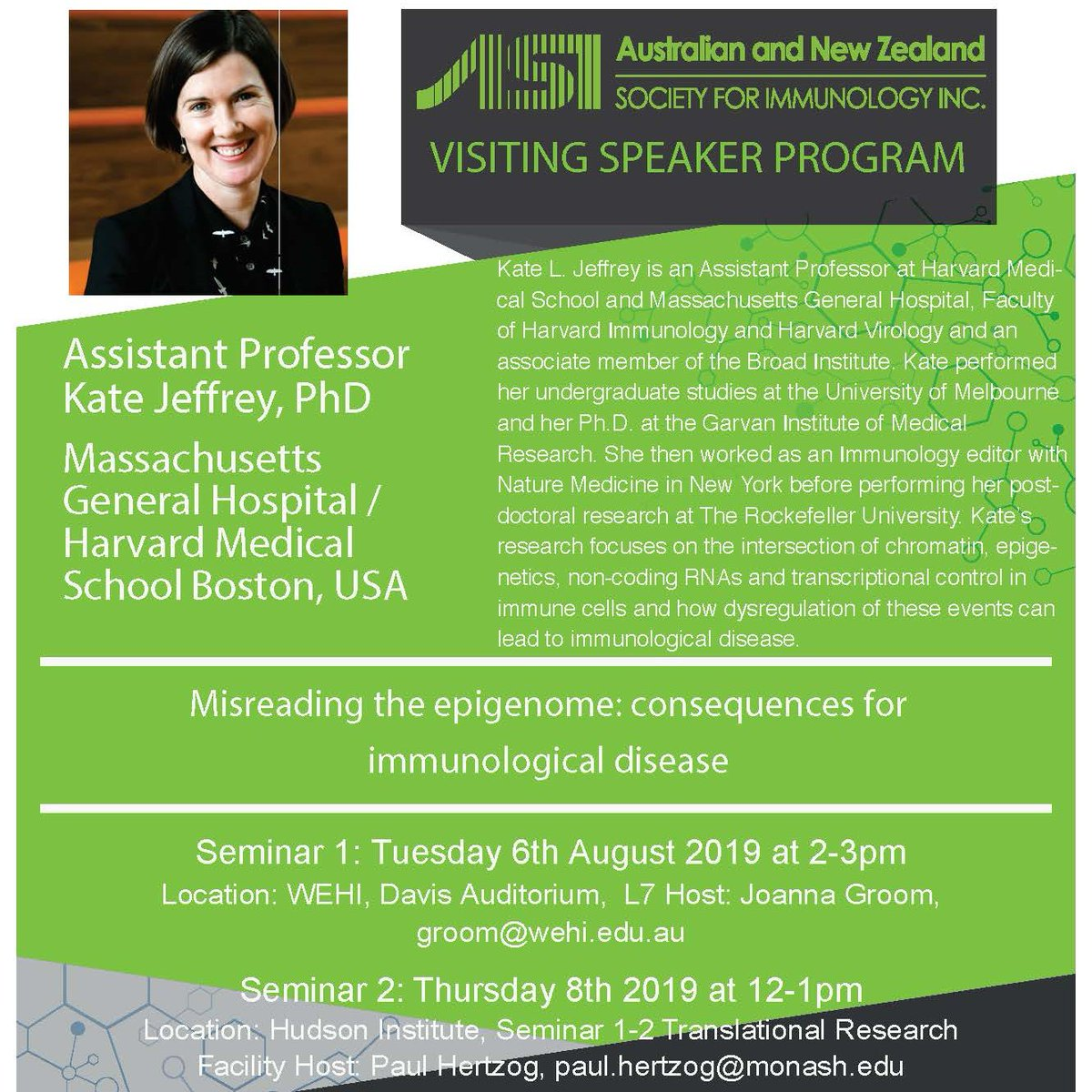 Australian and New Zealand Society for Immunology (@ASImmunology