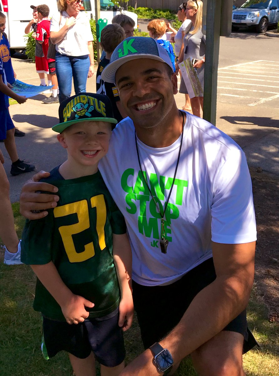 Just wrapped up our 12th camp of the summer and this dude combines two of my loves: Pokémon and @GoDucks