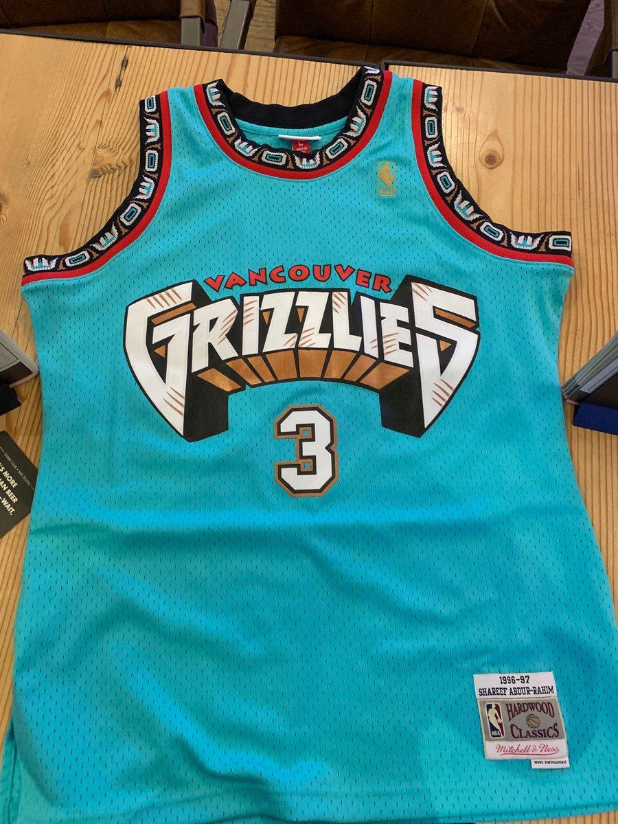 new product 7259c b6adb grizzlies throwback jersey