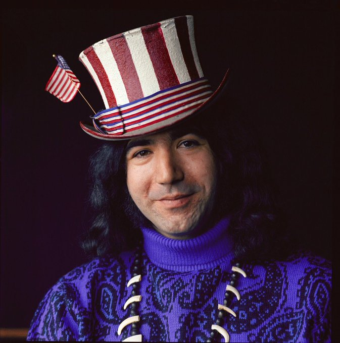 Happy 77th birthday to Jerry Garcia! Turn up that Scarlet Fire!