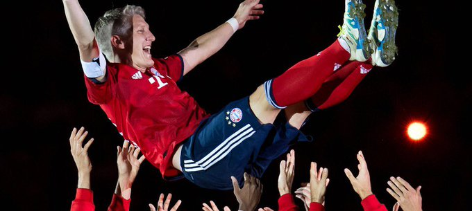 Happy birthday to one of my favourite football players, Bastian Schweinsteiger.