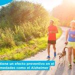 Image for the Tweet beginning: Hacer ejercicio moderado todos los