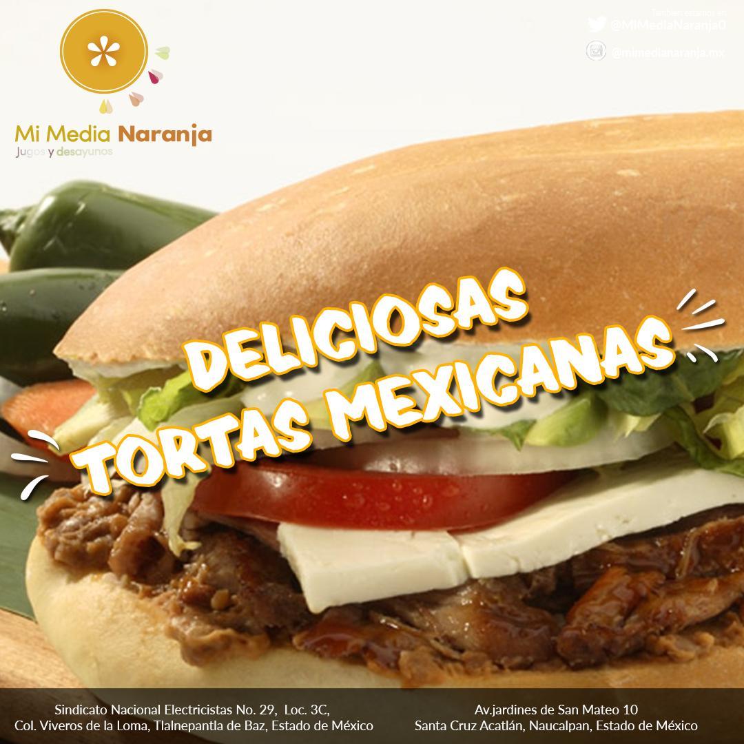¡Vente a comer con nosotros una sabrosa #TortaMexicana! #tortamexicana #torta #MiMediaNaranja  #comidamexicana #mexican #tortas #aguacatepic.twitter.com/uaQskqkqKq