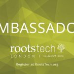 Image for the Tweet beginning: RootsTech London 2019 Competition Closes