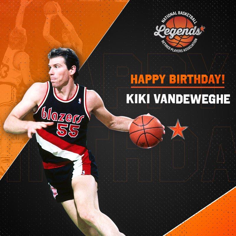 Happy Birthday to 2x #NBAAllStar, @KikiVanDeWeghe! #LegendsofBasketball