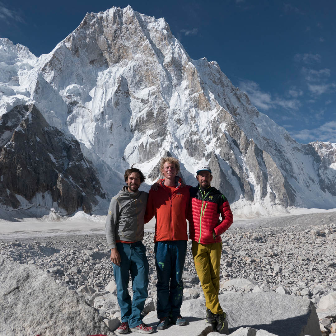 Congratulations to Tom Livingstone and his climbing partners Aleš Česen and Luka Stražar, they've been awarded a Piolet d'Or for their new route on Latok I last summer.