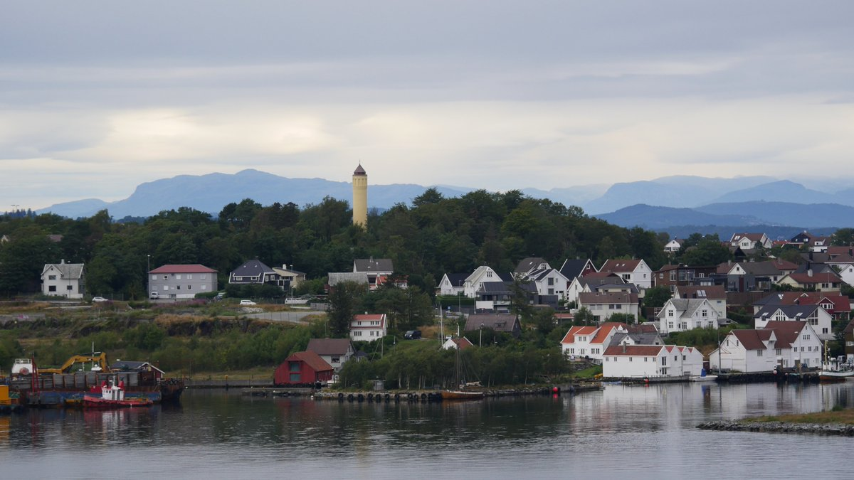 We awoke to the most beautiful views of Stavanger, Norway from our balcony on @HALCruises Nieuw Statendam! Stavanger is a city bursting with public art, bright colors, and beautiful natural spaces that you need to explore. #HollandAmerica #HALCruises