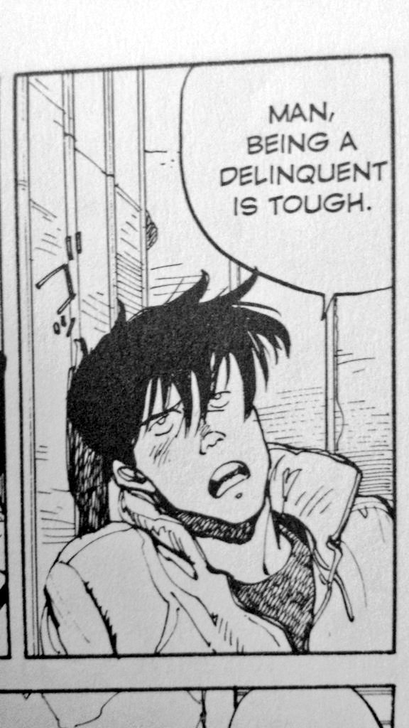 Curse Of The Usamummy On Twitter Kei In The Original Akira Manga Vs Kaneda In The Akira Film