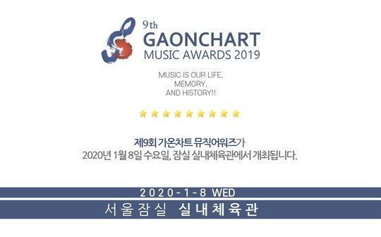 Imagini pentru GAON Chart Music Awards 2020