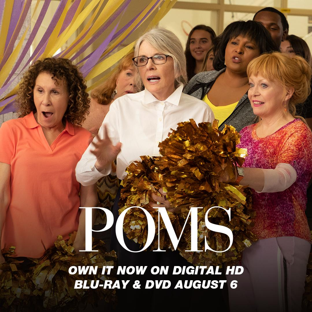 The wait is almost over! #POMSMovie comes to Blu-ray and DVD August 6. https://t.co/WcMUrA3fox https://t.co/qKU9fl1yKD