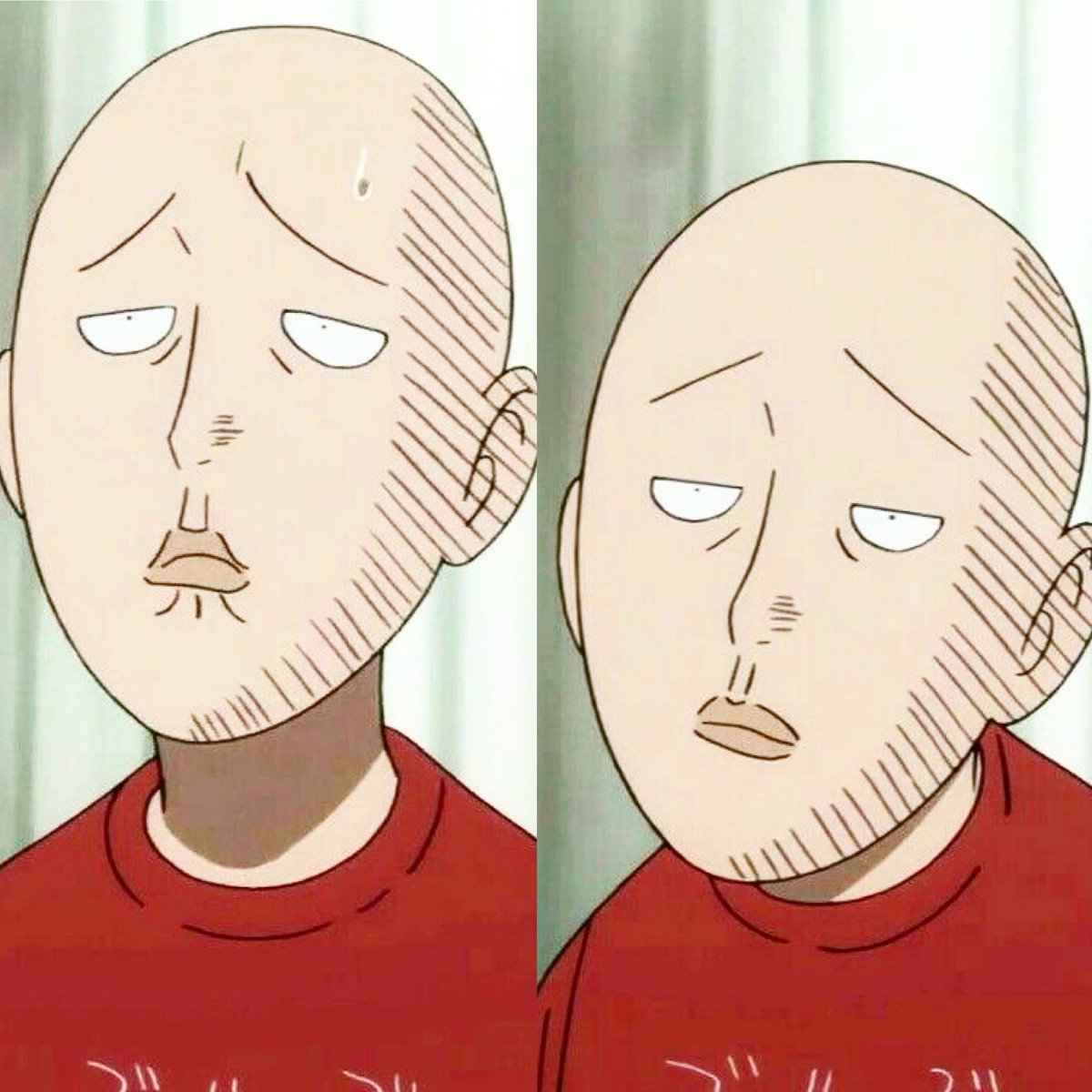 I love his face 😂👌🏻 amazing #OnePunchMan #OnePunchManSaitama #OPMSaitama #Saitama #OnePunchManAnime #saitamaonepunchman #saitamaopm #Anime #Manga #Animeseries