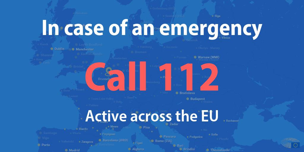 Stay safe this summer! In case of an emergency or an accident, call 📞112📱 anywhere in the EU.