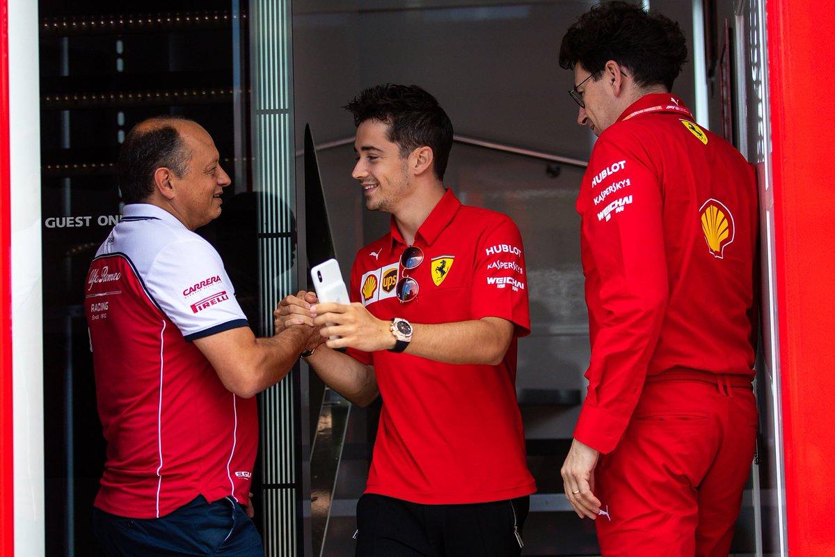 "Alfa F1 boss Frederic Vasseur explains Charles Leclerc's main ""champion""  traits"