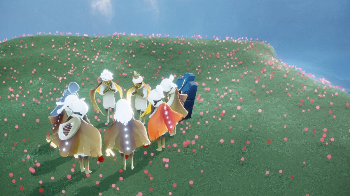 sky 星 を 紡ぐ 子ども たち 草原