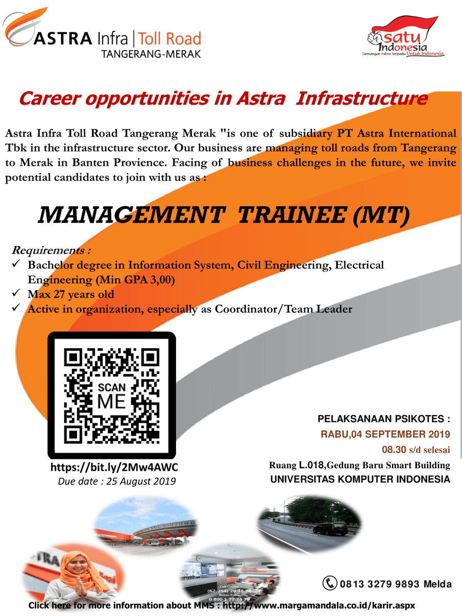 Job Vacancy] Hello Unparians! Astra Infra is now hiring