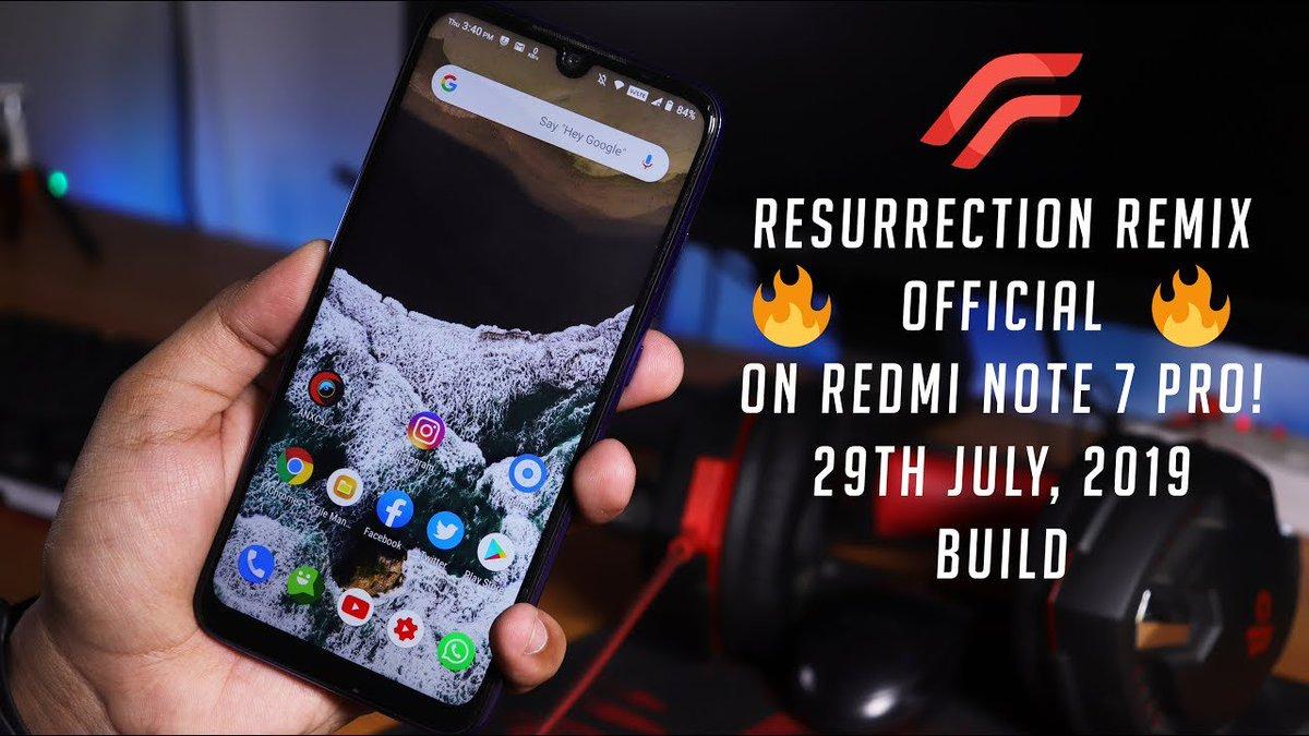 Resurrection Remix Pie Moto G3