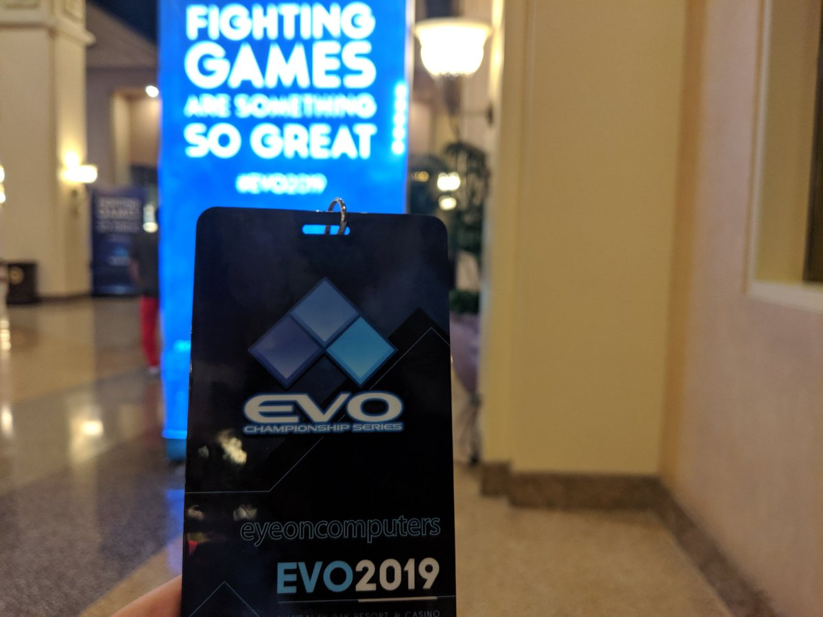 EyeOnComputers back from EVO2019 (@EyeOnComputing) | Twitter