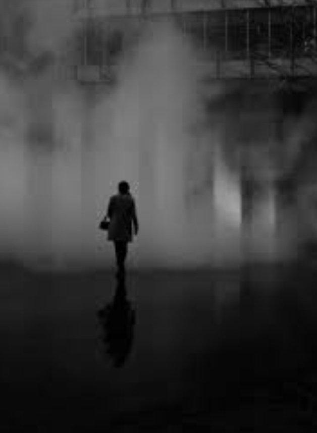 I need~ Familiar Darkness Lazy Bleakness Mysterious Nothingness ~ Bolting all doors to listen Incandescent silence! Art- Paul Francis #vss365 #vss365a #BardBits #fridayKiss #BraveWrite #FridayFeeling #FridayMotivation