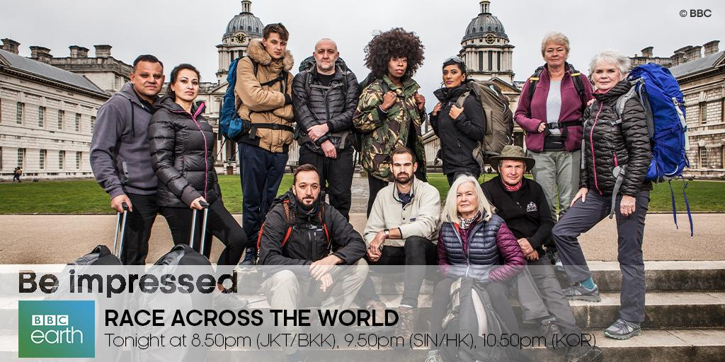 Adventure awaits our 5 teams on #RaceAcrossTheWorld, as they begin their race in Greenwich, London! Watch them overcome multiple challenges as they travel to their first stop - Delphi, and find out which pair manages to emerge first in the face of adversity!