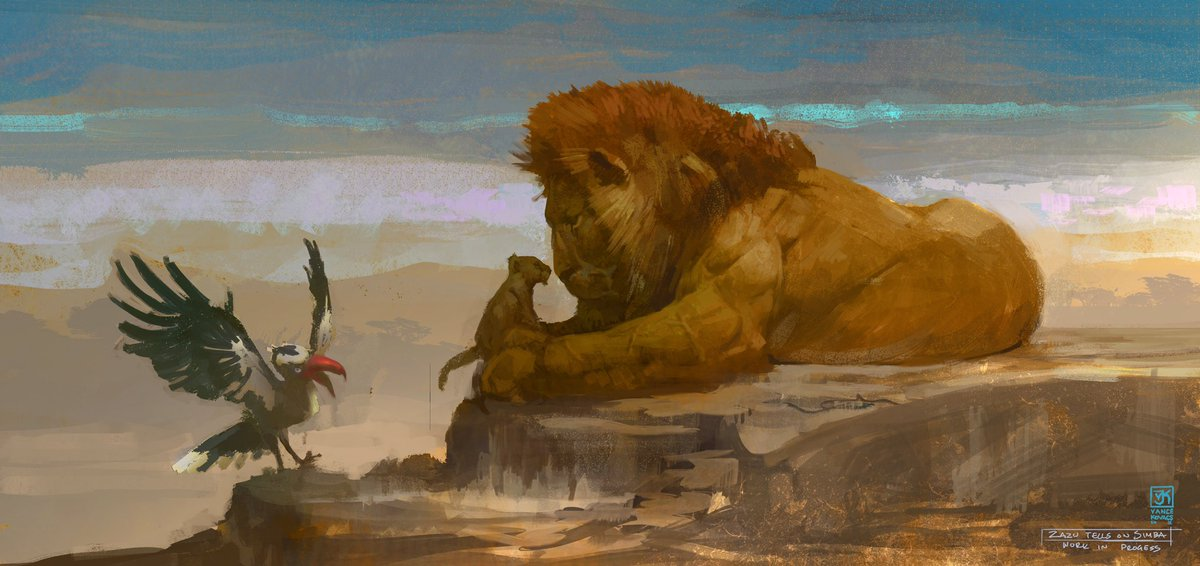 Totally Not Mark On Twitter Some Concept Art For The Love Action Lion King Looks Pretty Tight