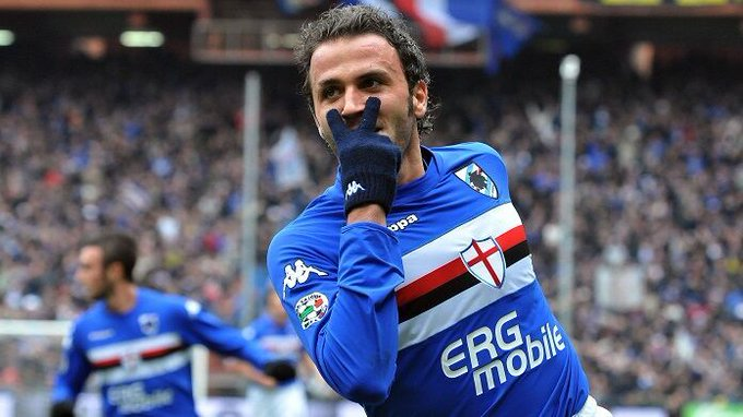 Happy Birthday, Giampaolo Pazzini  Your favourite celebration in Serie A history is: ________