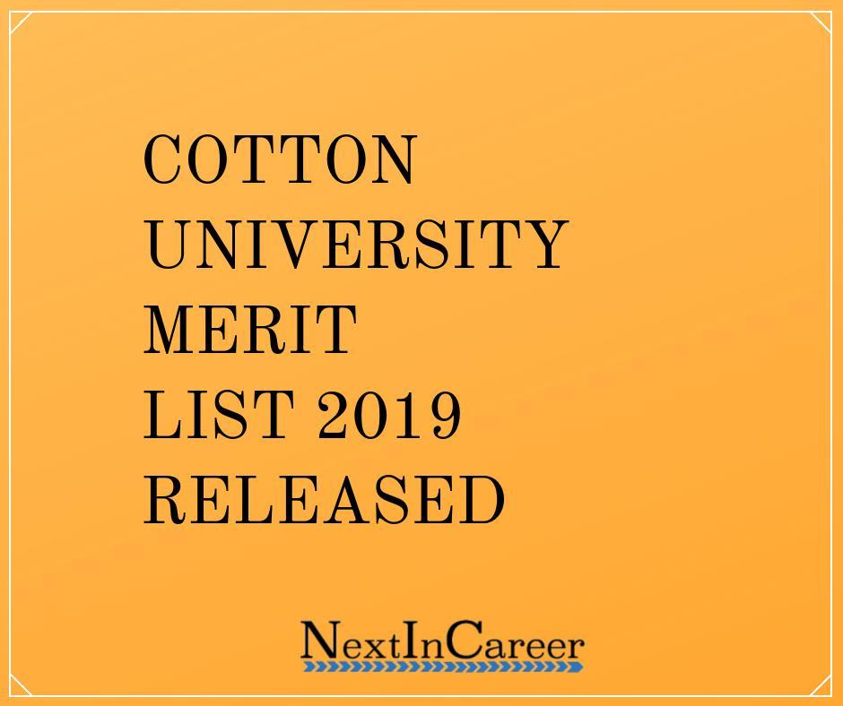 Nust Merit List 2019