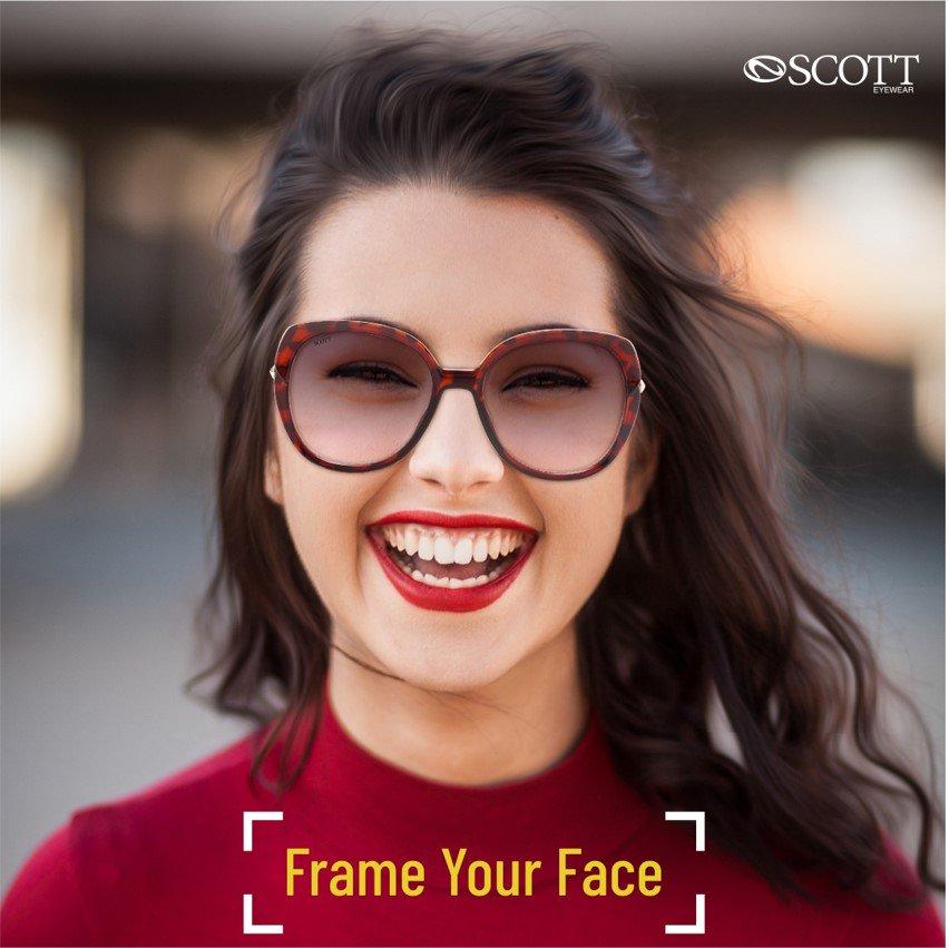 Wear your smile with love as you would, your Scott Sunnies.  #ScottEyewearXAKSK #ScottSunnies #ISeeYou #Spotted #Scotted #SpotTheScott #BondOverScott #ScottTheSun #AnilKapoor #SonamKapoor