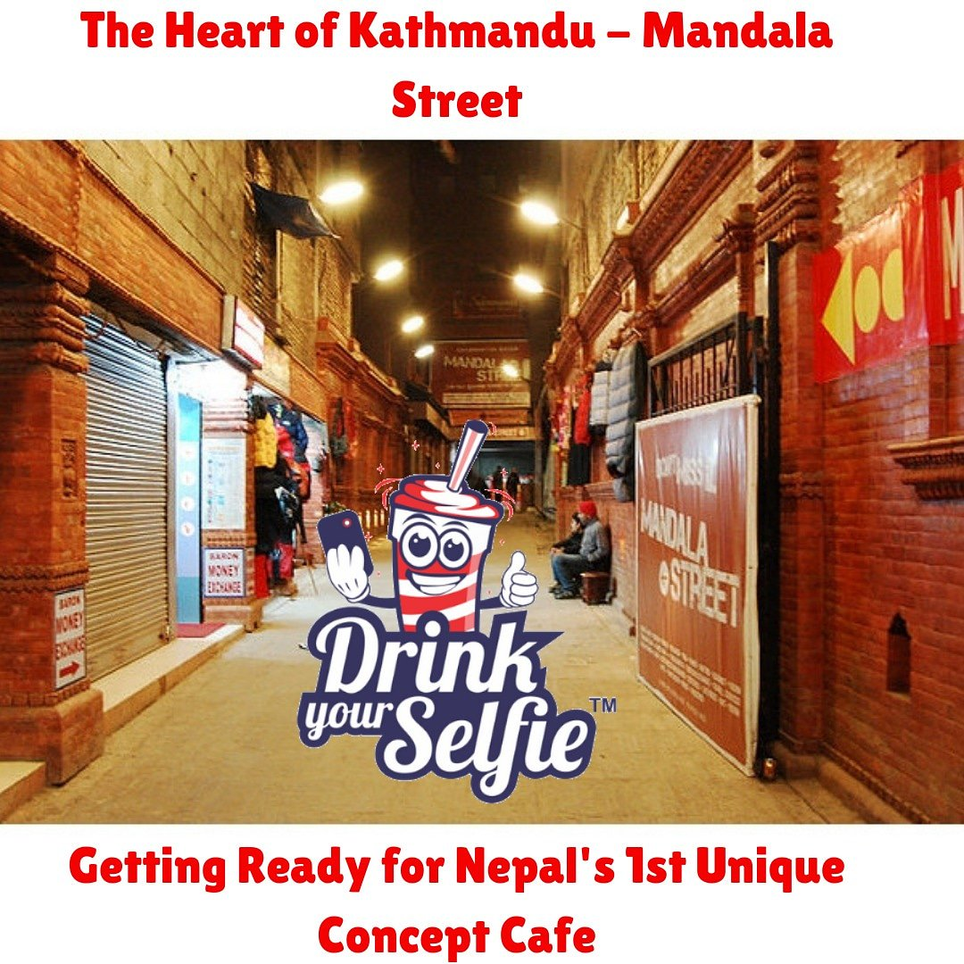 The Heart of Kathmandu - Mandala Street. Getting Ready for Nepal's 1st Unique Concept Cafe. #drinkyourselfie #comingsoon #kathmandunepal #nepal #lovefromindia🇮🇳 #beverages #clickitdrinkit #nepal #kathmandu #nepali #travelphotography #photooftheday #love #like #instagood