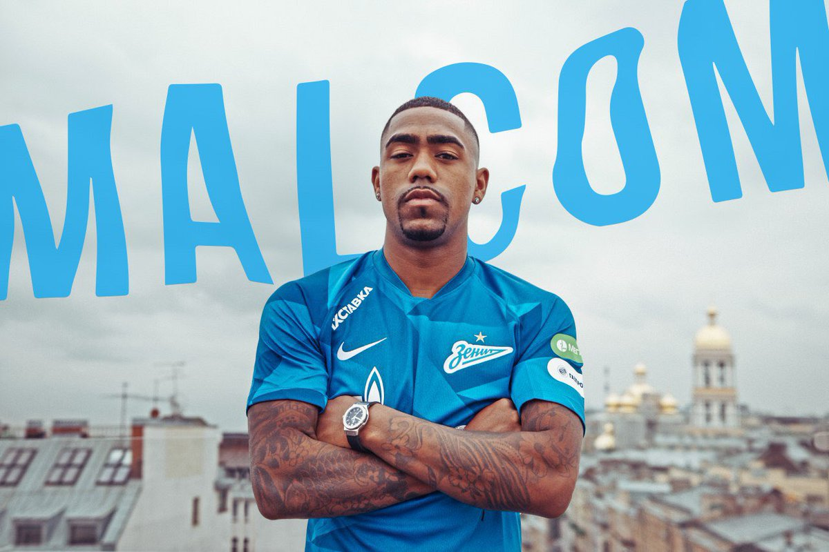 "FC Zenit in English🌊 on Twitter: ""Malcom is here! 📰 https://t.co ..."